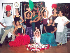 Flamenco Programs for Groups in Barcelona with professional Flamenco dancers